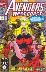Avengers West Coast # 73