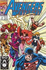 Avengers West Coast # 74