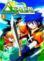 Delta saga T.1 Manga