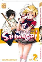 High School  Samurai T.2 Manga
