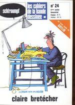 Schtroumpf Les cahiers de la bande dessinée 24 Magazine