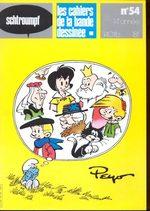 Schtroumpf Les cahiers de la bande dessinée 54 Magazine