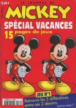 Le journal de Mickey 2472 Magazine
