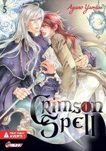 Crimson Spell T.5 Manga