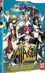Magi - The Labyrinth of Magic 2