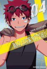 Bad luck witch ! 4 Manga