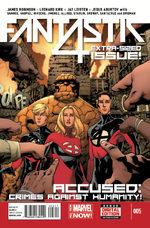 Fantastic Four 5 Comics