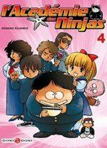 L'Académie des Ninjas 4 Manga