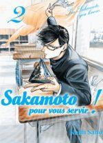 Sakamoto, pour vous servir ! T.2 Manga