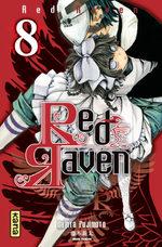 couverture, jaquette Red Raven 8