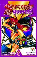 couverture, jaquette Sorcerer Hunters 2