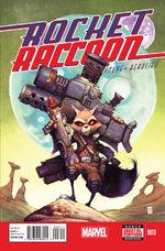 Rocket Raccoon 3 Comics