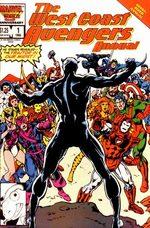 West Coast Avengers # 1