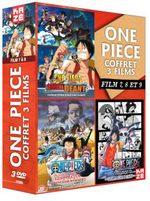 One Piece - Films (coffrets par 3) 3 Film