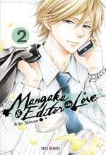Mangaka & Editor in love T.2 Manga