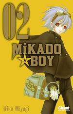 couverture, jaquette Mikado boy 2