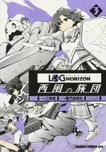 Log Horizon - La brigade du vent de l'Ouest 3 Manga