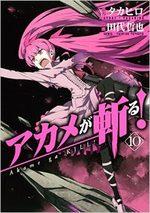 Red Eyes Sword - Akame ga Kill ! 10 Manga
