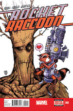 Rocket Raccoon 5 Comics