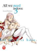 All we need is love 3 Manga
