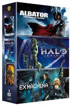 Coffret Albator, Corsaire de l'Espace ; Halo Legends ; Appleseed Ex Machina 1 Produit spécial