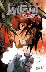 Lanfeust Quest 4 Global manga