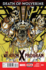 Death of Wolverine - The Weapon X Program 3