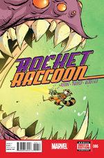 Rocket Raccoon 6 Comics