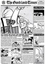 The Gond land Times 1 Produit spécial manga