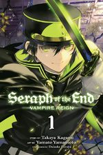couverture, jaquette Seraph of the end 1
