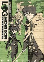 Log Horizon 1 Light novel