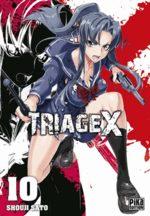 Triage X 10 Manga