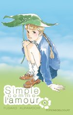 Simple comme l'amour T.1 Manga