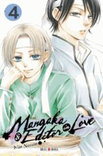 Mangaka & Editor in love 4 Manga