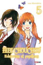 Hibi Chouchou - Edelweiss et Papillons 5 Manga