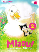 MIAOU ! Le quotidien de Moustic 2 Manga