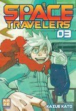 Space travelers 3 Manga