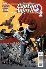 Sam Wilson - Captain America # 1