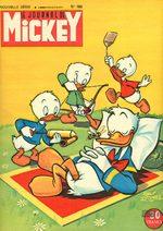 Le journal de Mickey 166 Magazine