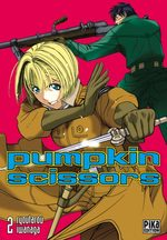 Pumpkin Scissors 2 Manga