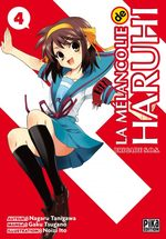 La Mélancolie de Haruhi Suzumiya 4 Manga