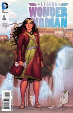 The Legend of Wonder Woman # 5