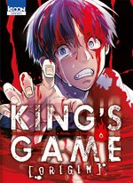 King's Game Origin T.6 Manga