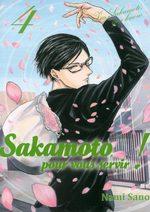 Sakamoto, pour vous servir ! 4 Manga