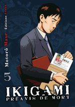 Ikigami - Préavis de Mort 5 Manga