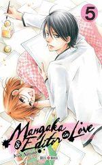 Mangaka & Editor in love 5 Manga