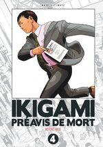 couverture, jaquette Ikigami - Préavis de Mort Ultimate 4