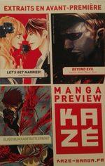 Manga Preview Kazé 2