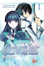 couverture, jaquette The Irregular at Magic High School 1