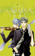 La Corde d'Or 3 Manga
